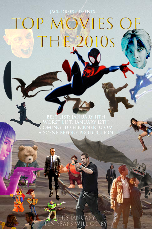 Top Movies of the 2010s OFFICIAL POSTER