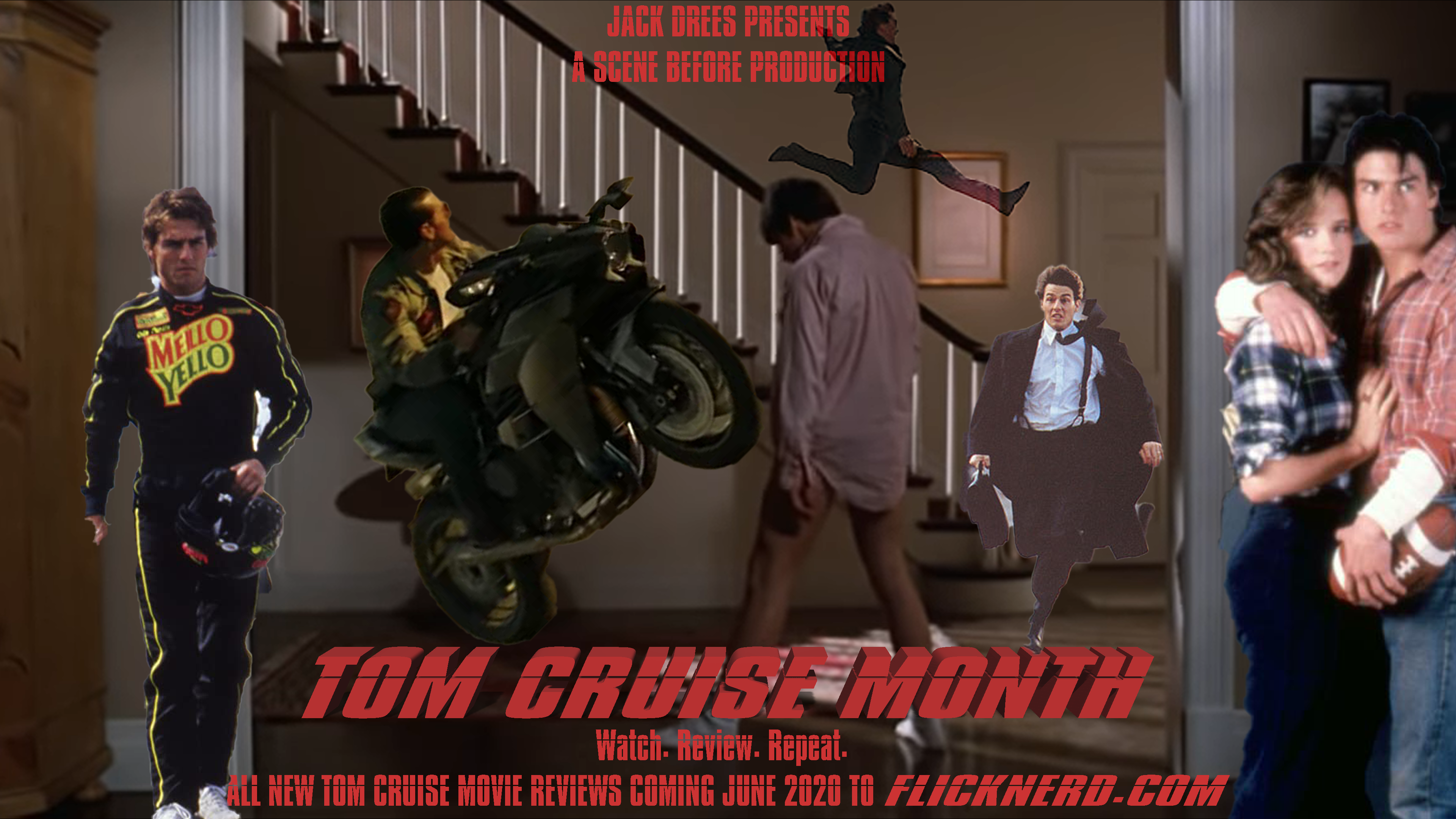 TOM CRUISE MONTH POSTER